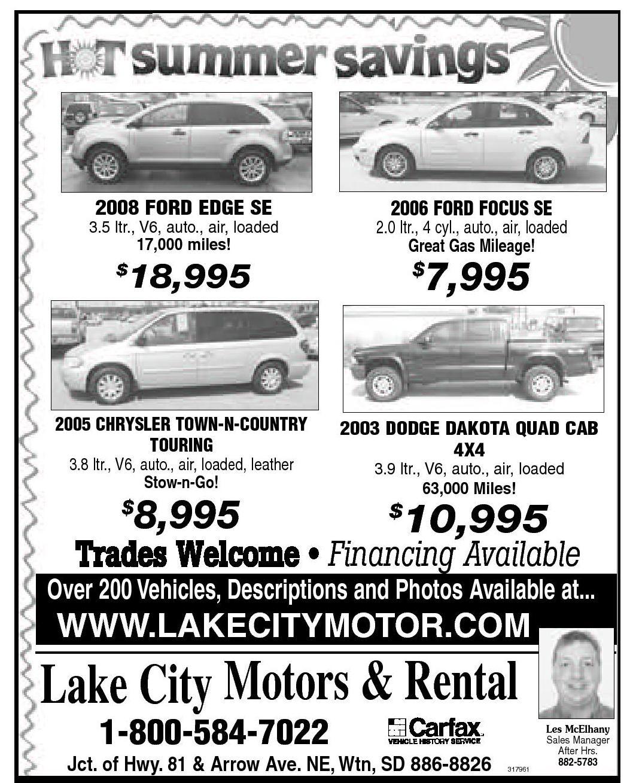 Lake City Motors Watertown Sd