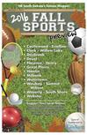 Fall Sports Edition